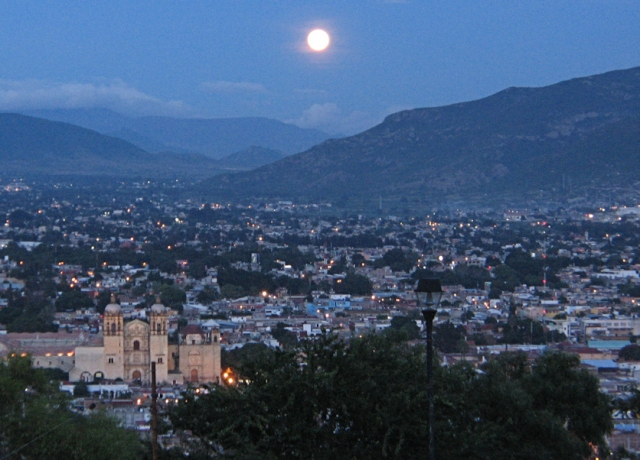 Oaxaca at night