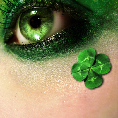 When Irish eyes are smiling..