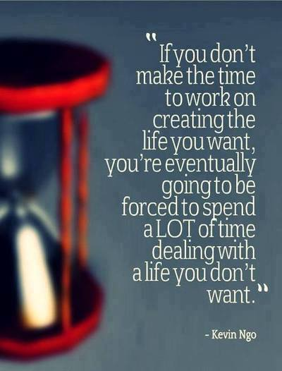 Choosing the life you want to live..