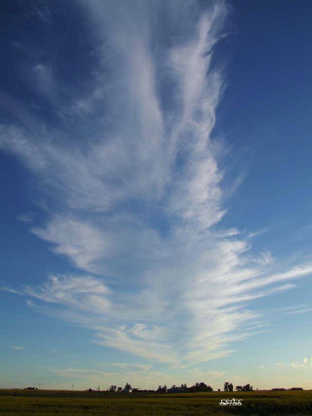 Man made clouds..
