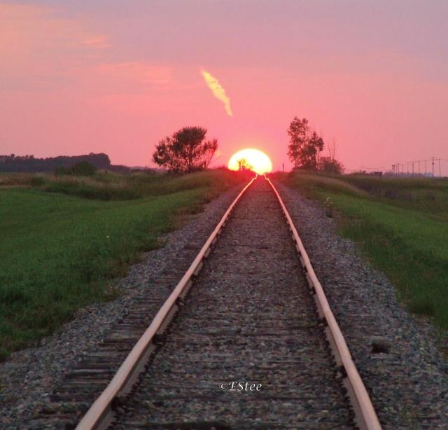 These tracks take me home...
